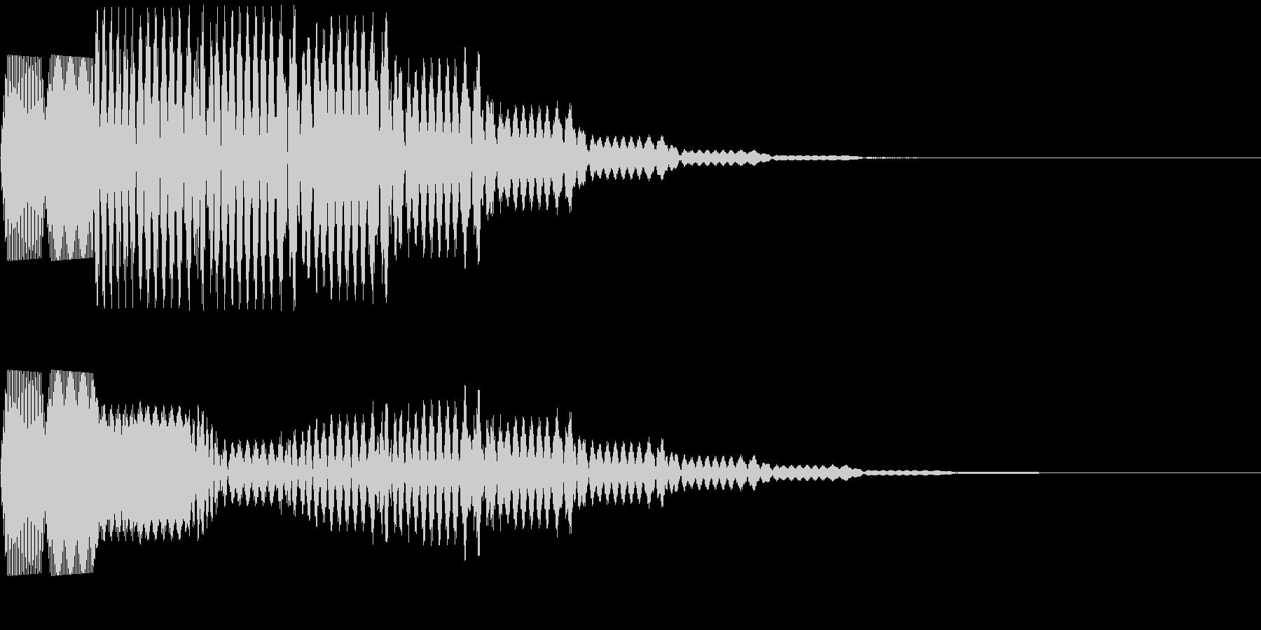 ピロリロリロの未再生の波形
