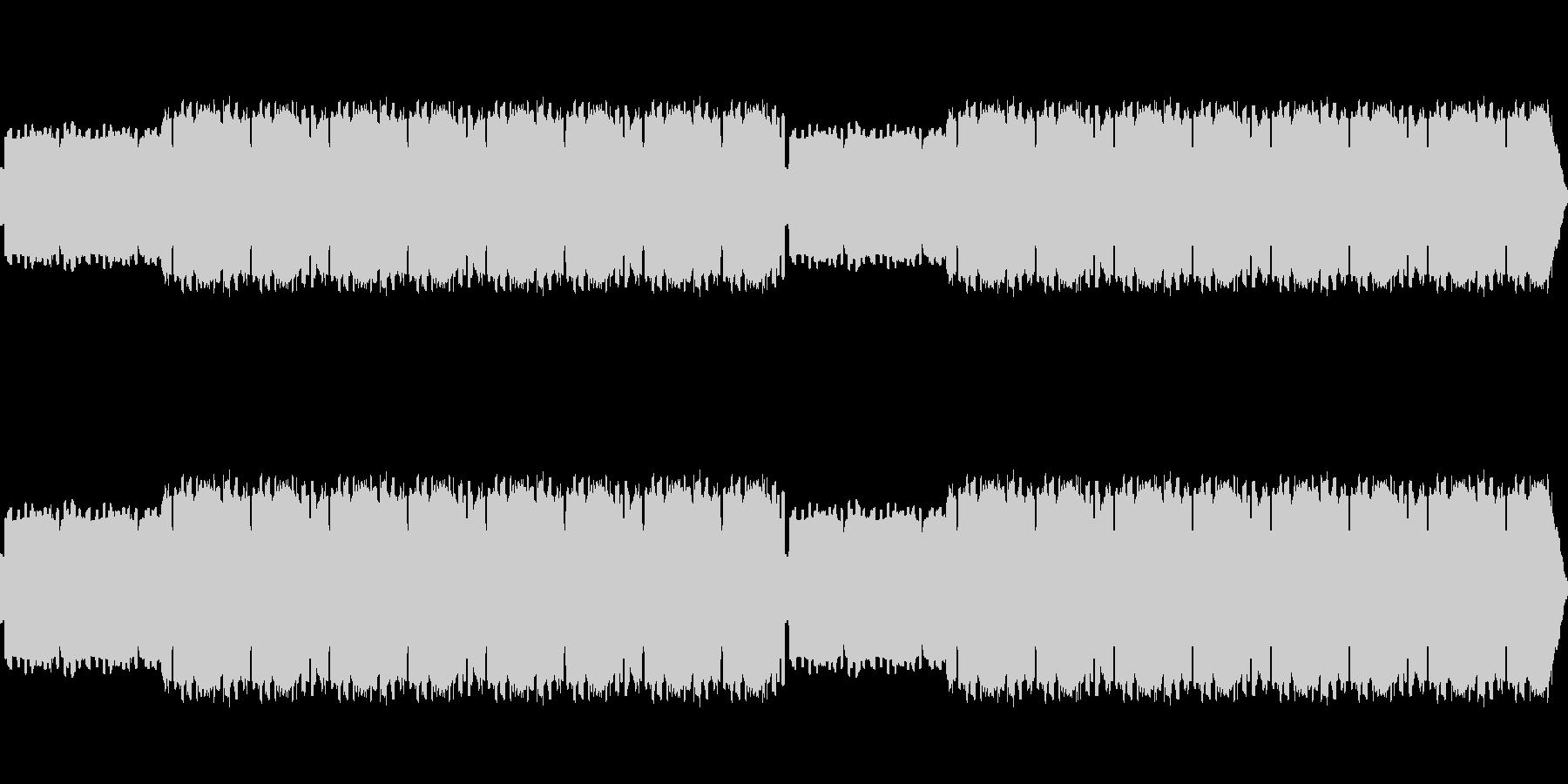 懐かしい雰囲気のフィールドBGMの未再生の波形
