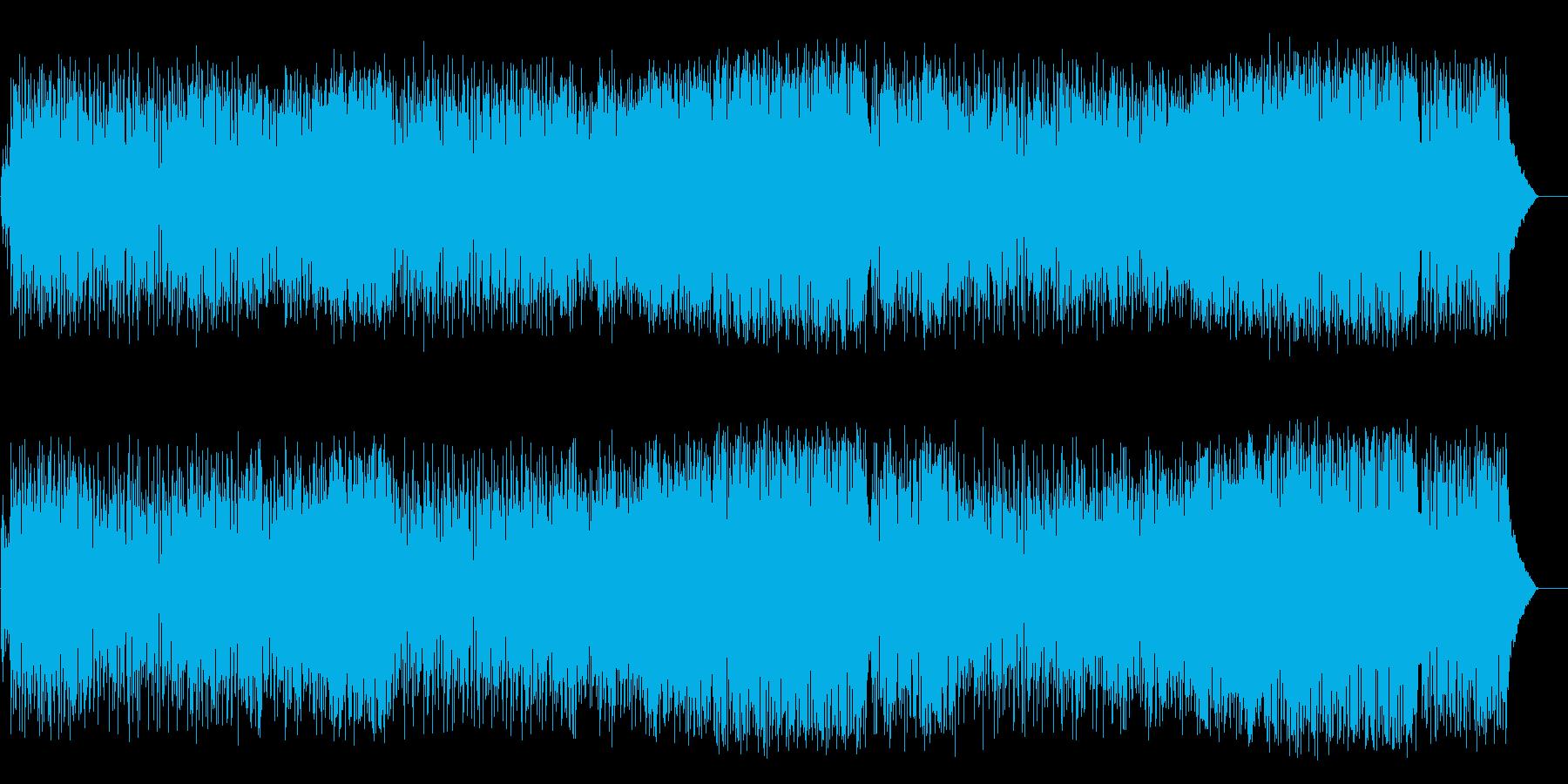 清々しい店内向けポップス(フルサイズ)の再生済みの波形