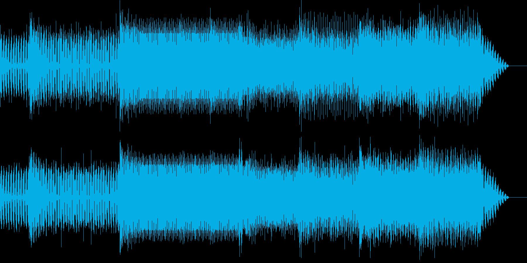 ベースの這いずるサイ・トランスの再生済みの波形