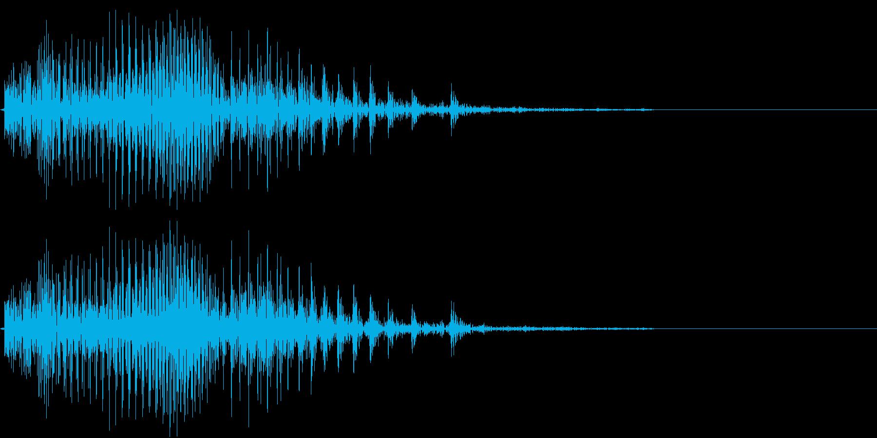 Piko ピコピコハンマー バラエティ の再生済みの波形
