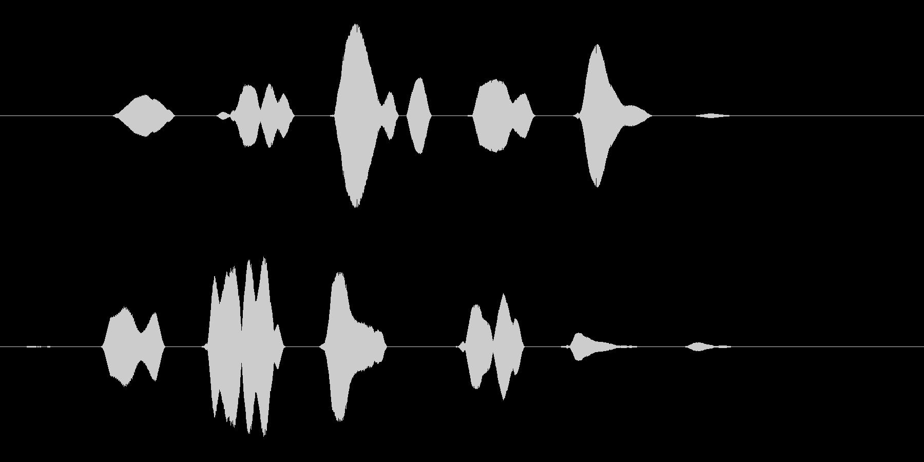 リリリン (涼しげな虫の羽音)の未再生の波形