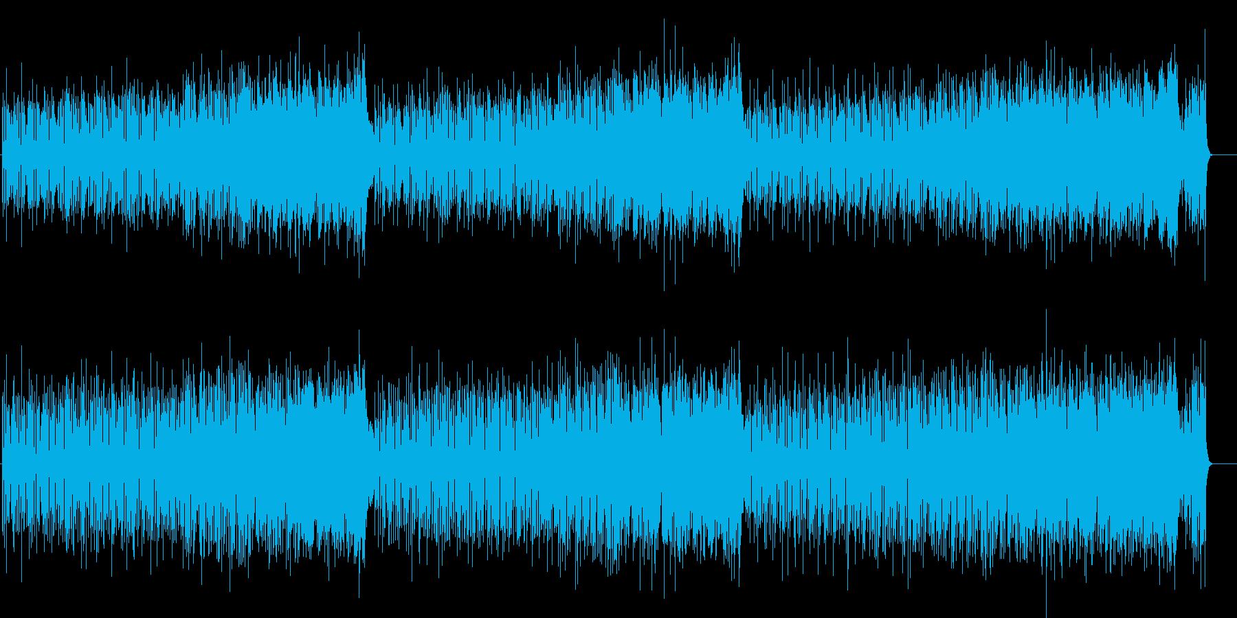 タイトにときめくカリビアン・パラダイスの再生済みの波形