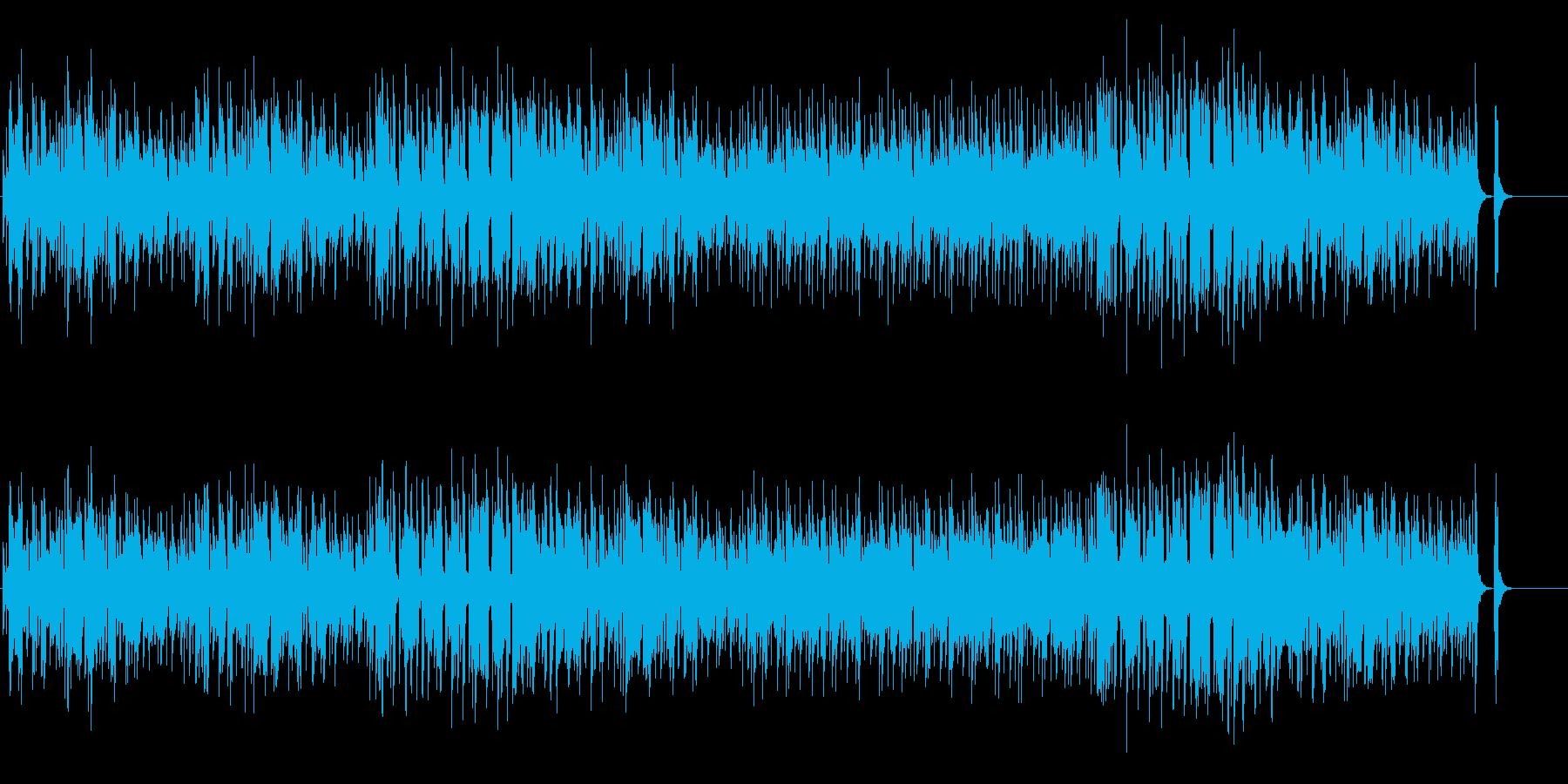 エスニック風味のメランコリックなポップスの再生済みの波形