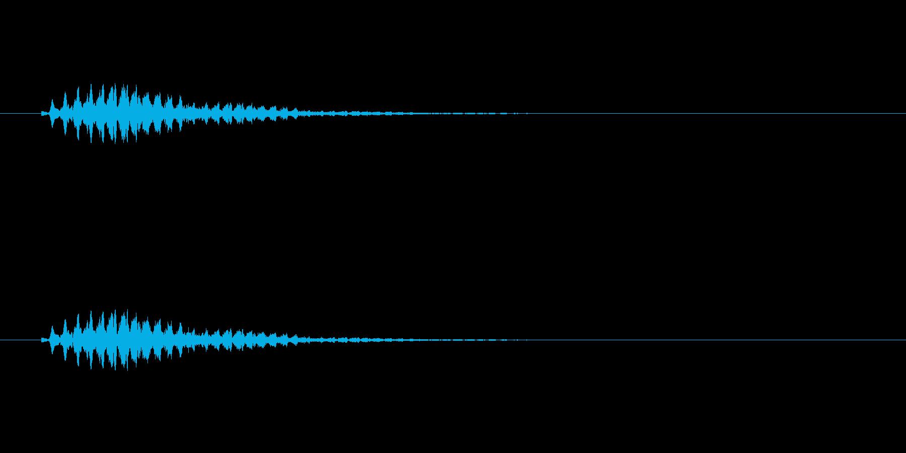 【ショートブリッジ12-6】の再生済みの波形