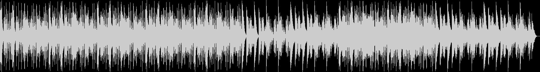 ウェット感のある優しいシンセサイザーの音の未再生の波形