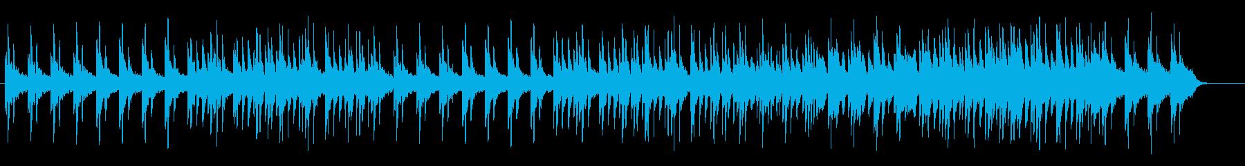 美しく透明感のあるシンセピアノサウンドの再生済みの波形