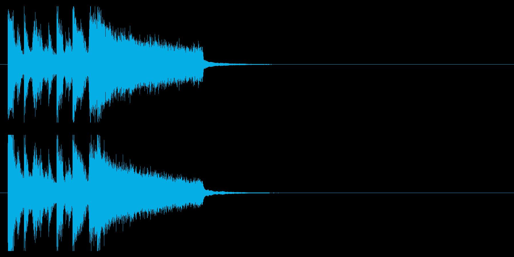 力強い 追跡 挑戦 スピード スリルの再生済みの波形