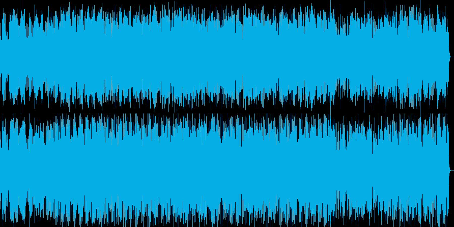 まったりした大人のまどろみ風ジャズの再生済みの波形