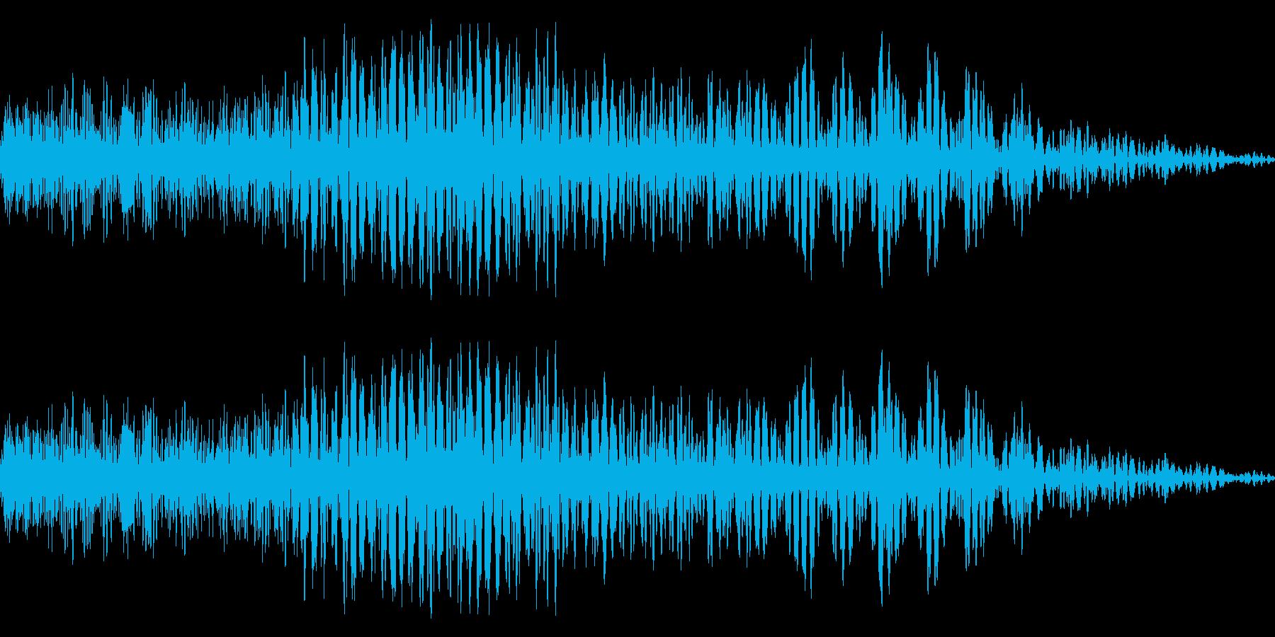メニュー画面音(ウインドウ,決定等)13の再生済みの波形