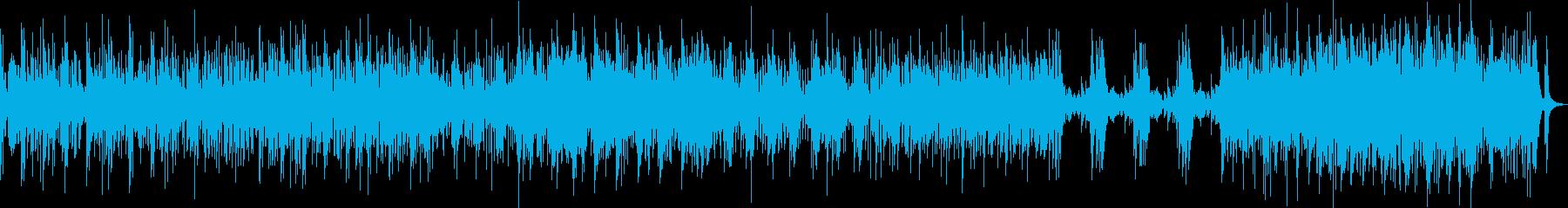 テクノロジー系の邪魔にならないBGMの再生済みの波形