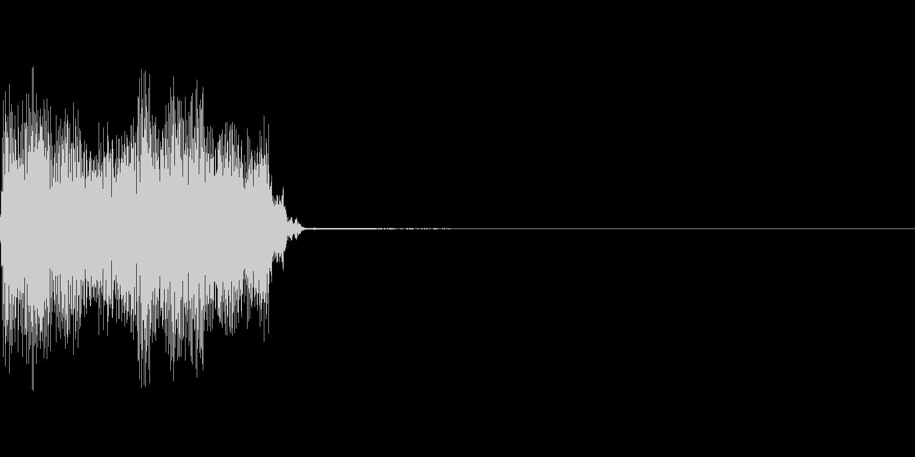 コックピットなどの細かい電子音_08の未再生の波形