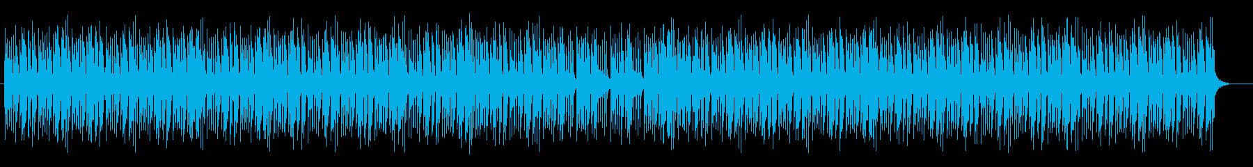 オルガンによるボサノバの再生済みの波形