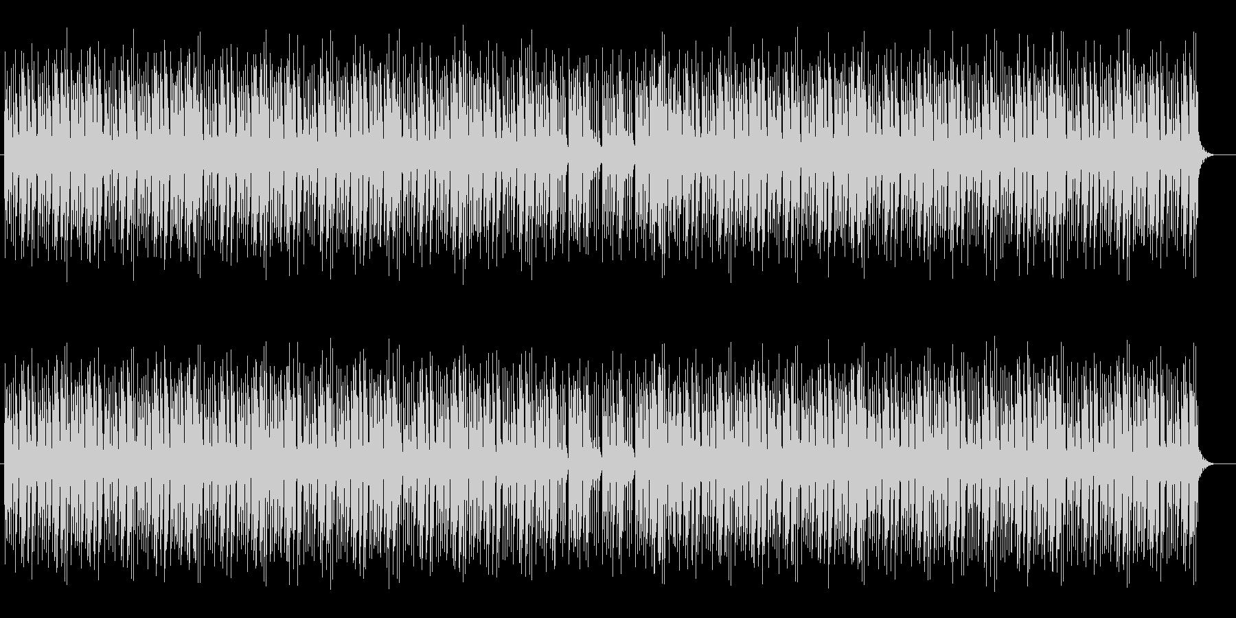 オルガンによるボサノバの未再生の波形