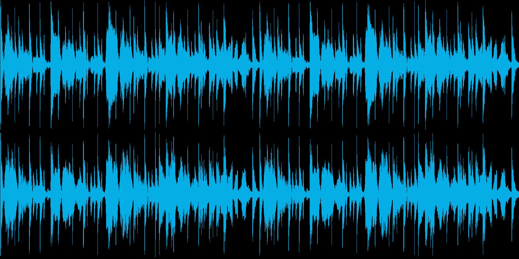 【ラウンジ/落ち着いた雰囲気のJAZZ】の再生済みの波形