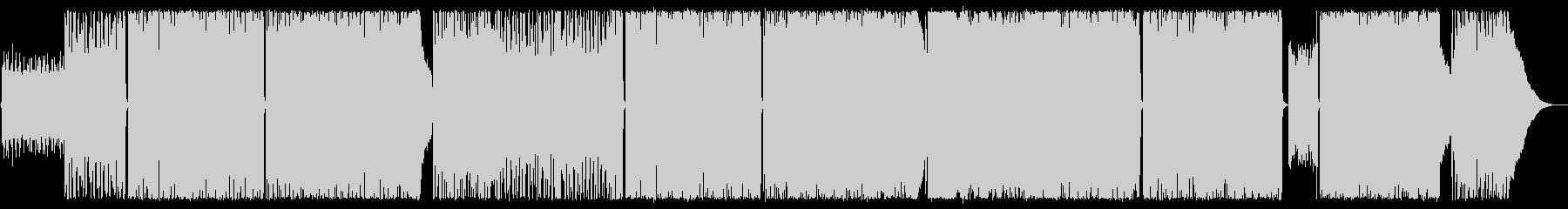 ギターアルペジオが印象的なRockの未再生の波形