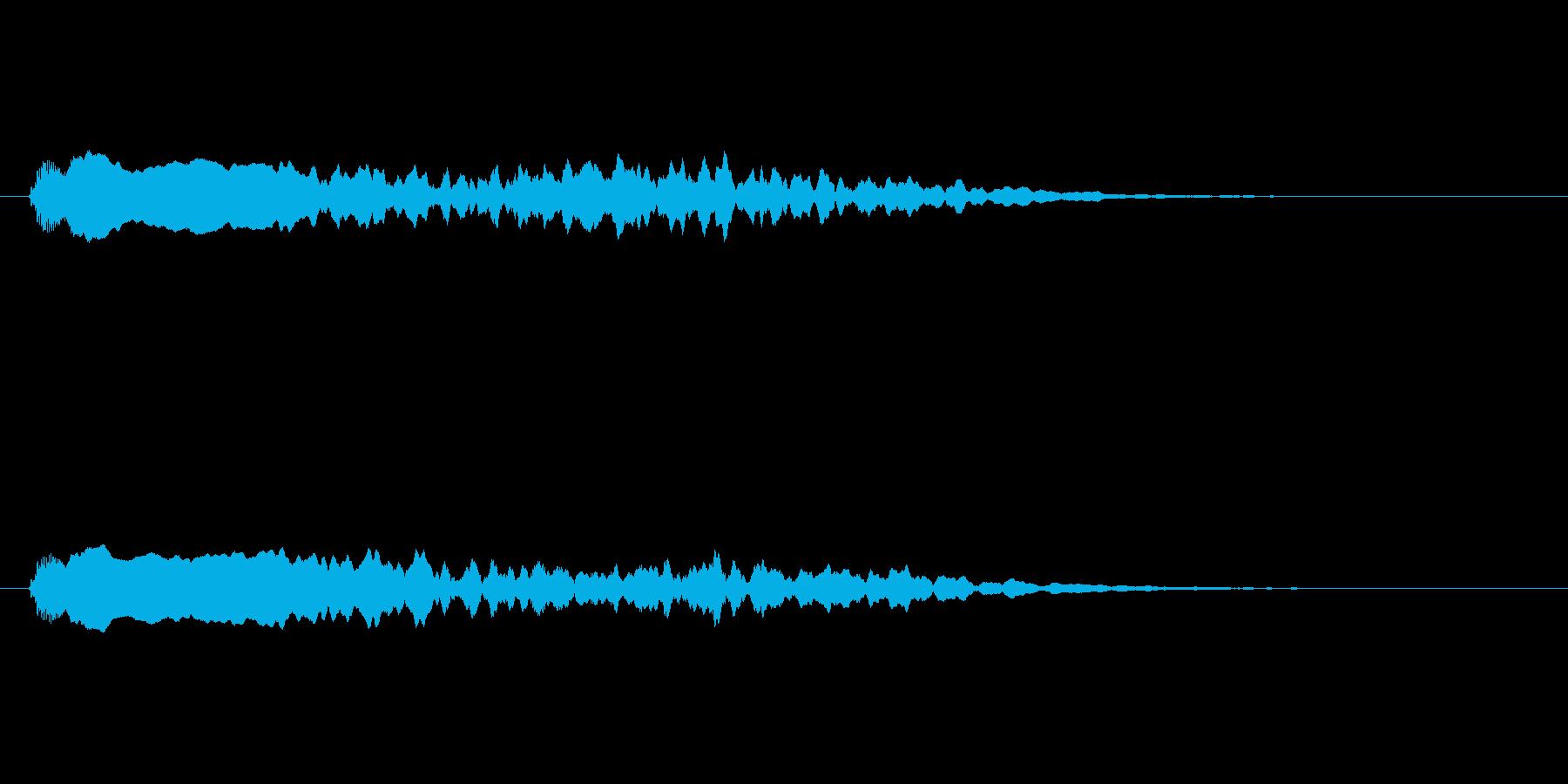 【ネガティブ04-2】の再生済みの波形