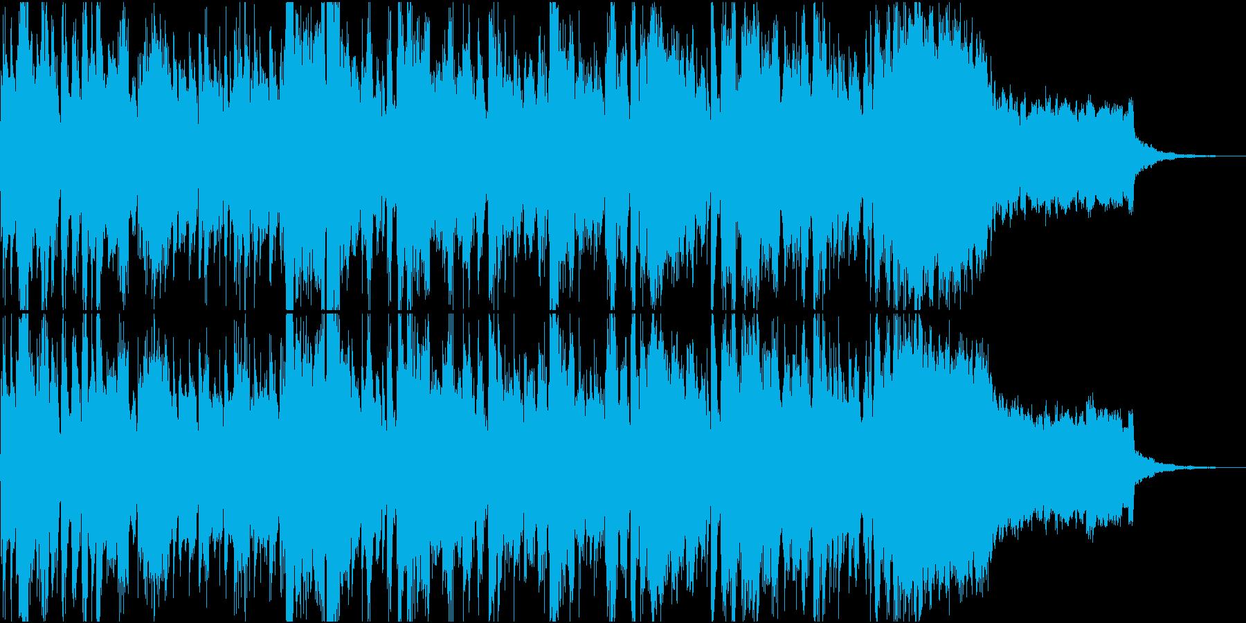 女性英ボーカルおしゃれなクラブ系30秒の再生済みの波形