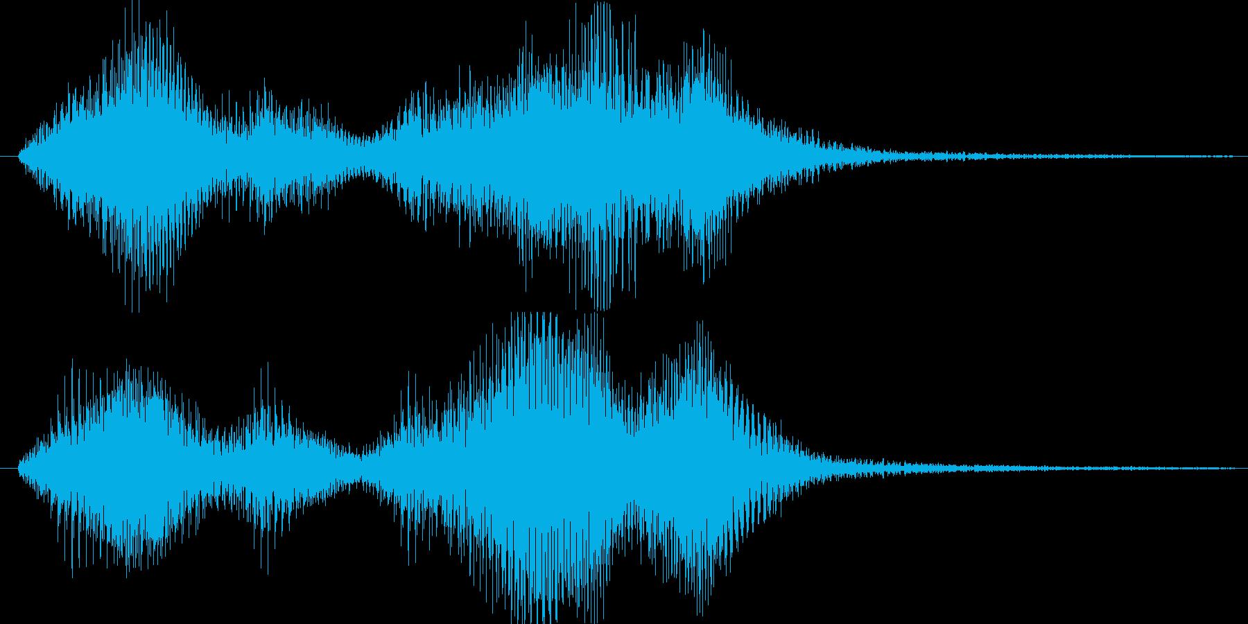 キャラのレベルアップ音です。の再生済みの波形