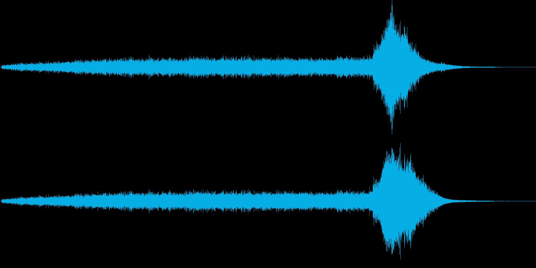 ワープ音(宇宙船、SFイメージ)2の再生済みの波形
