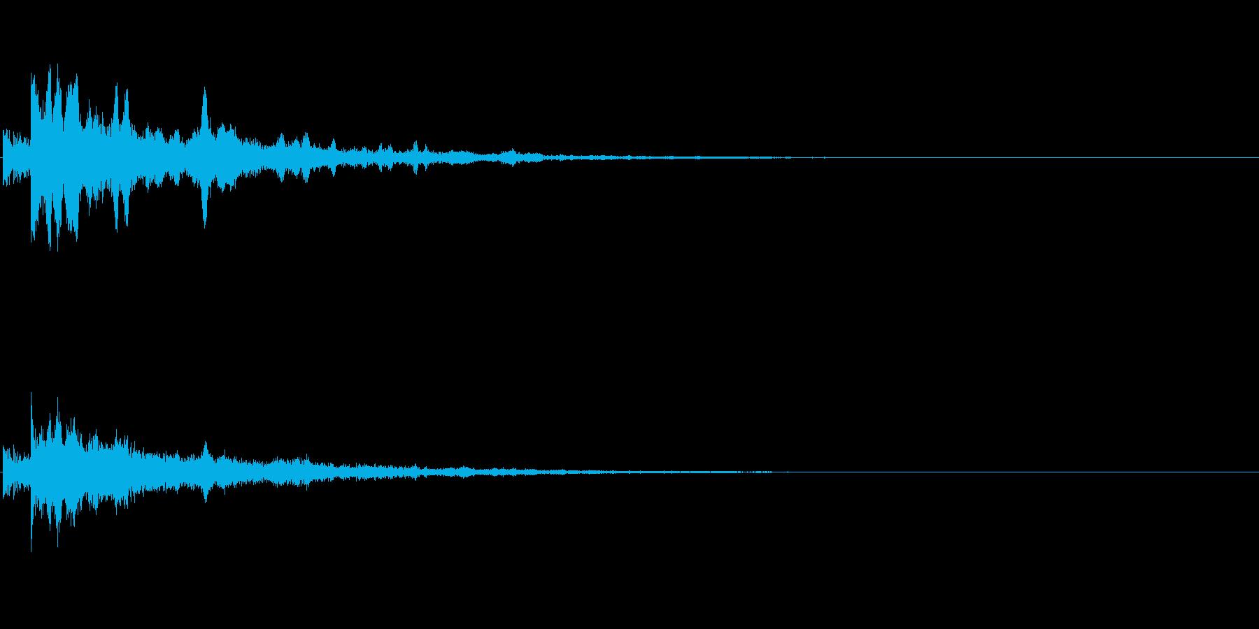 発散系サウンド+不思議の再生済みの波形
