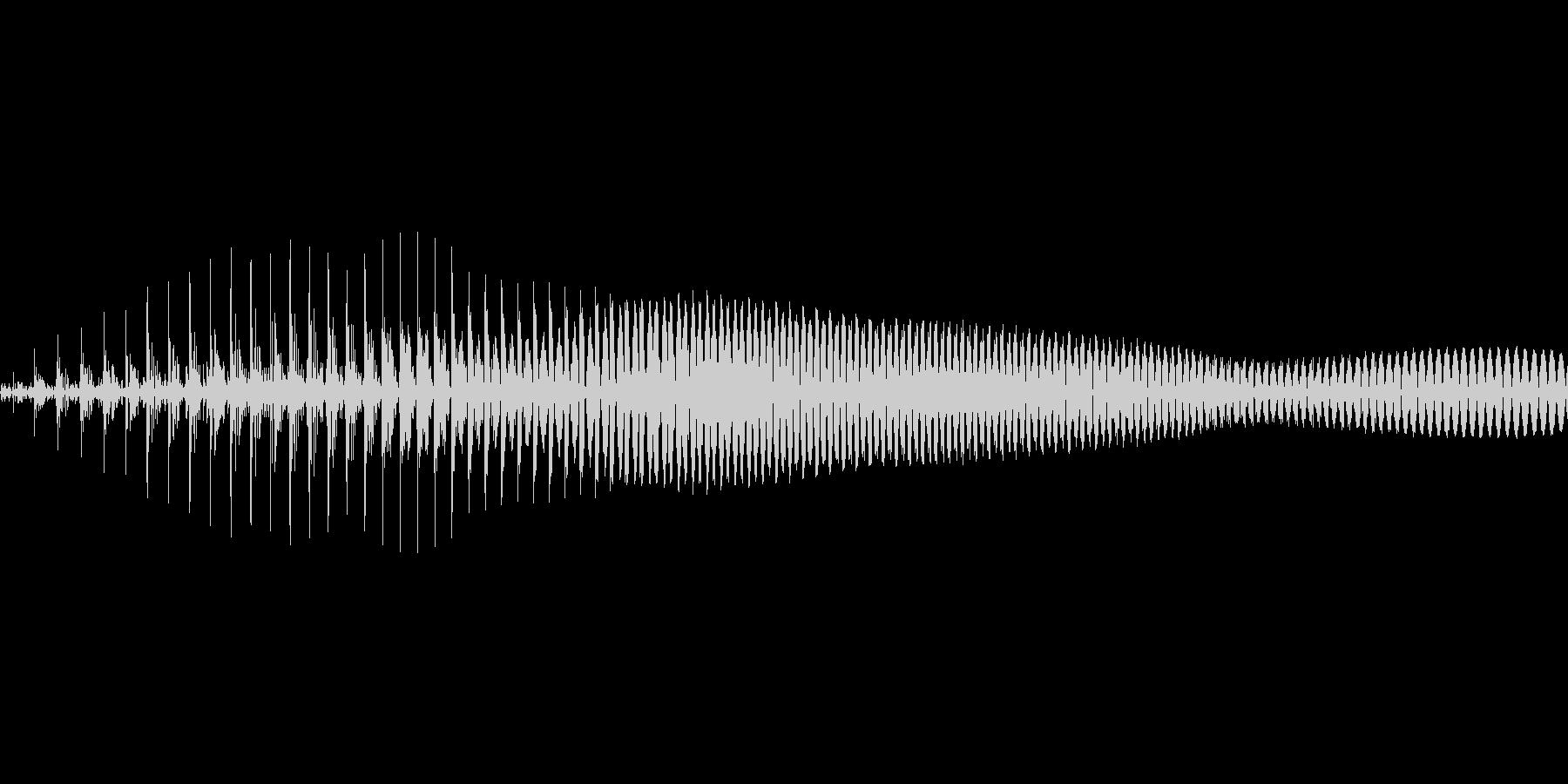 えい!【攻撃、掛け声】の未再生の波形