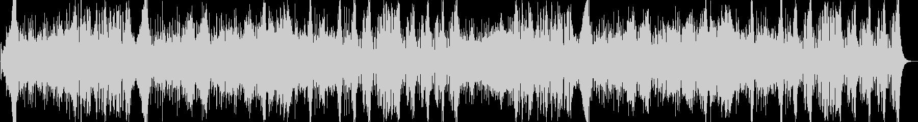 オーケストラバトル曲の未再生の波形