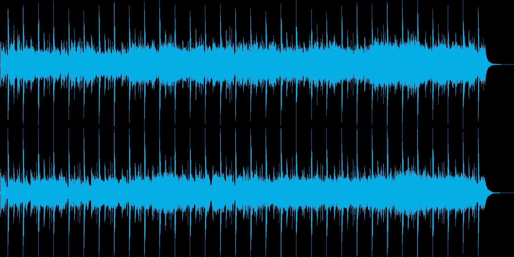 ストリングス主体の厳格な雰囲気の再生済みの波形
