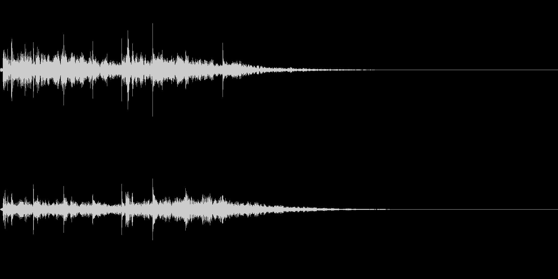 【ロゴ、ジングル】シンセ05の未再生の波形