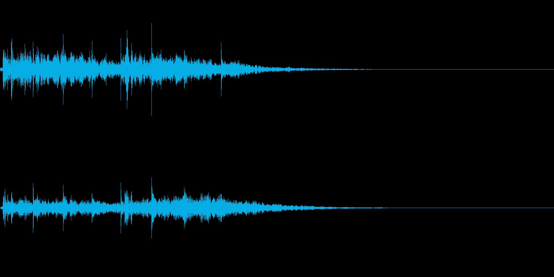 【ロゴ、ジングル】シンセ05の再生済みの波形