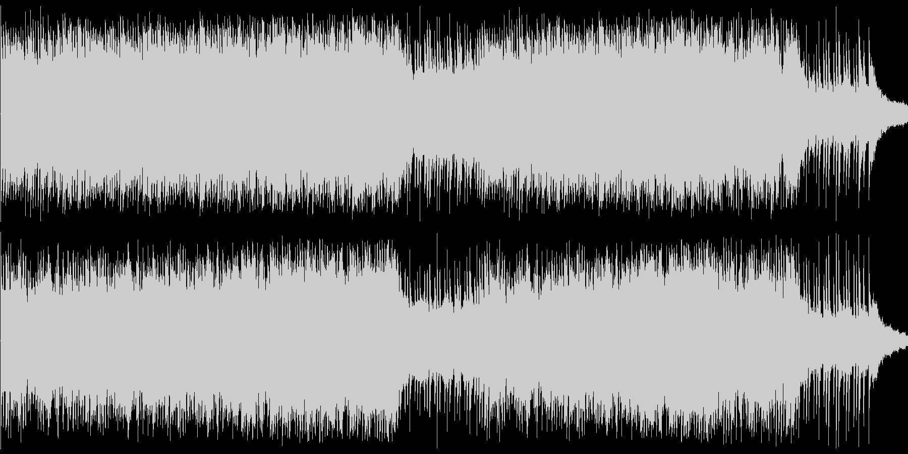 ピアノとストリングスのBGMです。「様…の未再生の波形