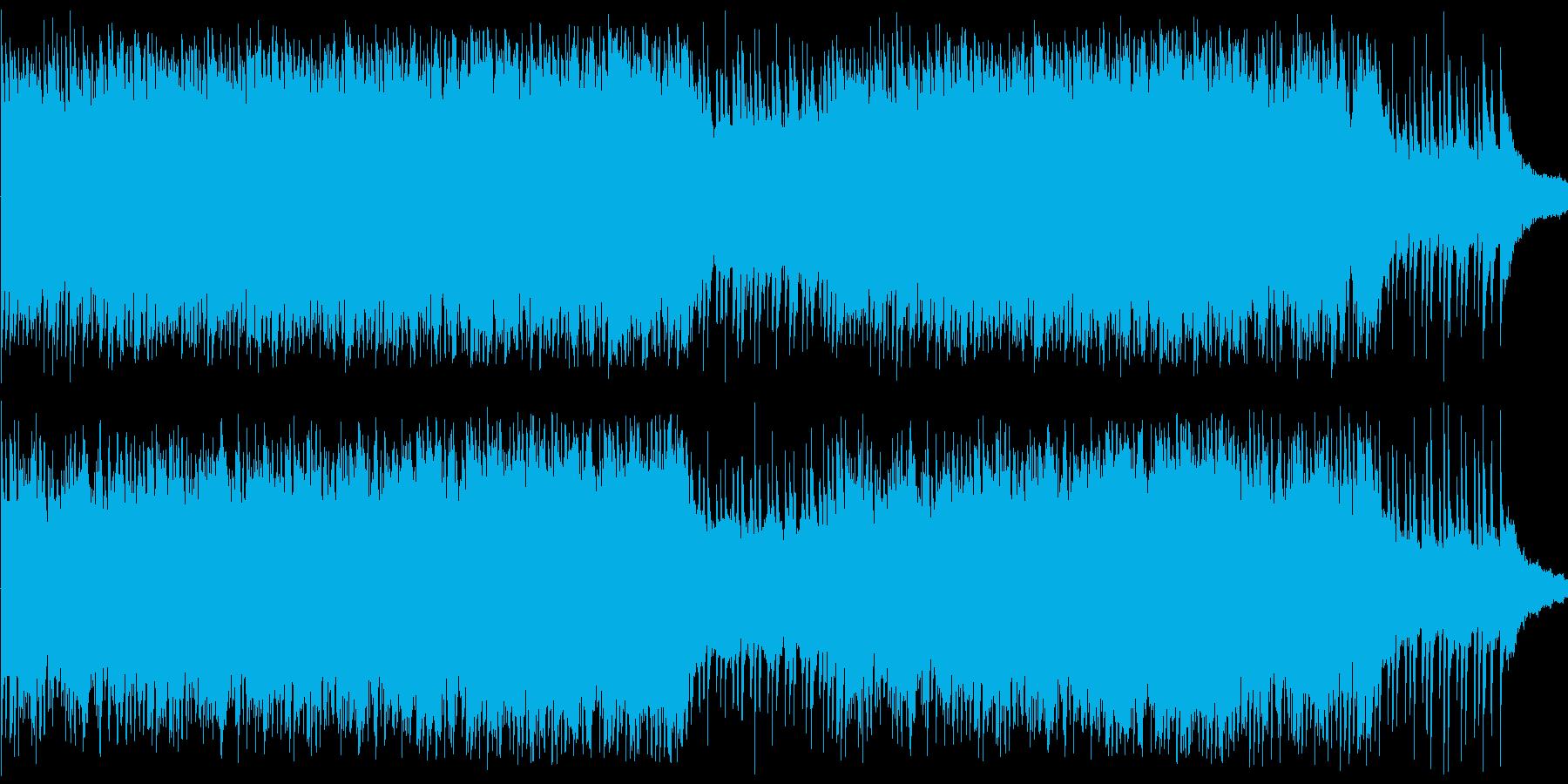 ピアノとストリングスのBGMです。「様…の再生済みの波形