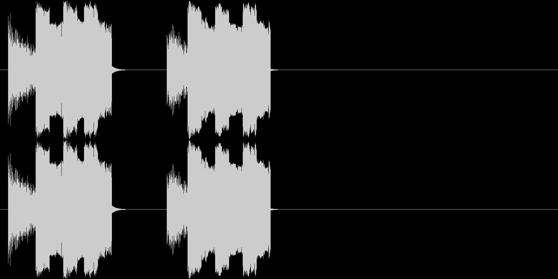 8Bit_ザシュザシュ!の未再生の波形