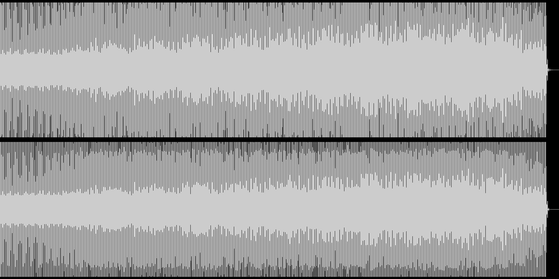 宇宙的dub minimal techの未再生の波形