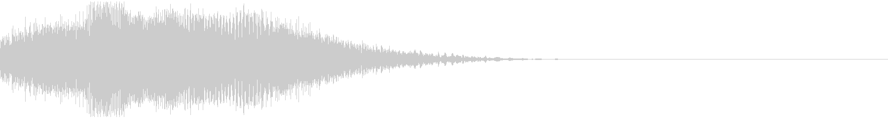 ビーム・レーザ音の未再生の波形
