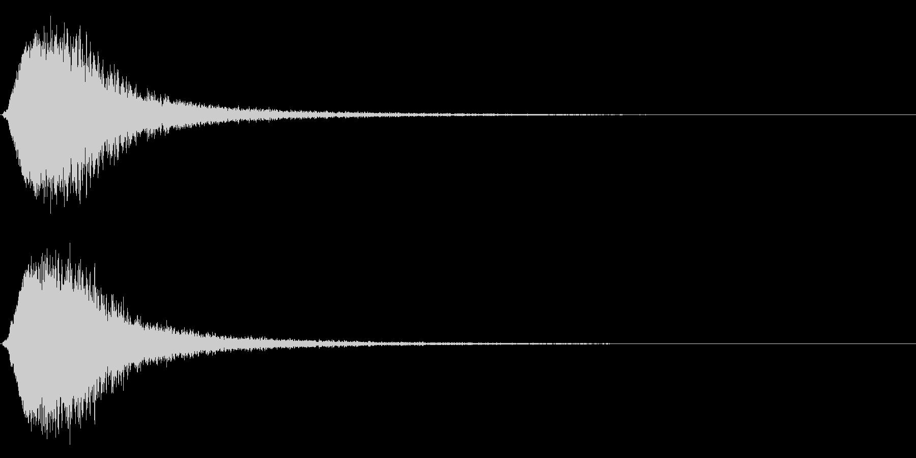 キラン☆シャキーン/派手なインパクト3vの未再生の波形