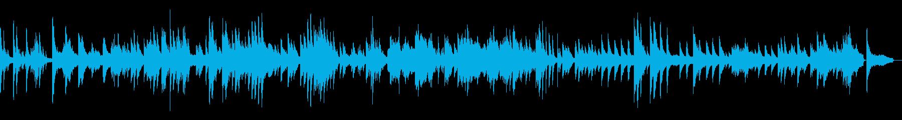 水のピアノ 涼しげ生演奏 リラックスの再生済みの波形