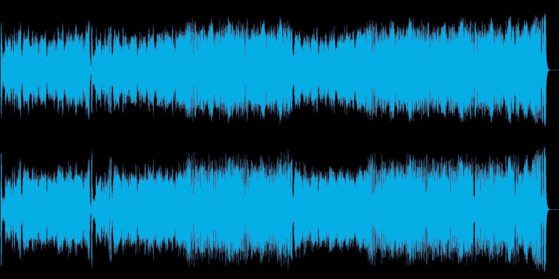 気品高いオーケストラ楽曲(フルサイズ)の再生済みの波形