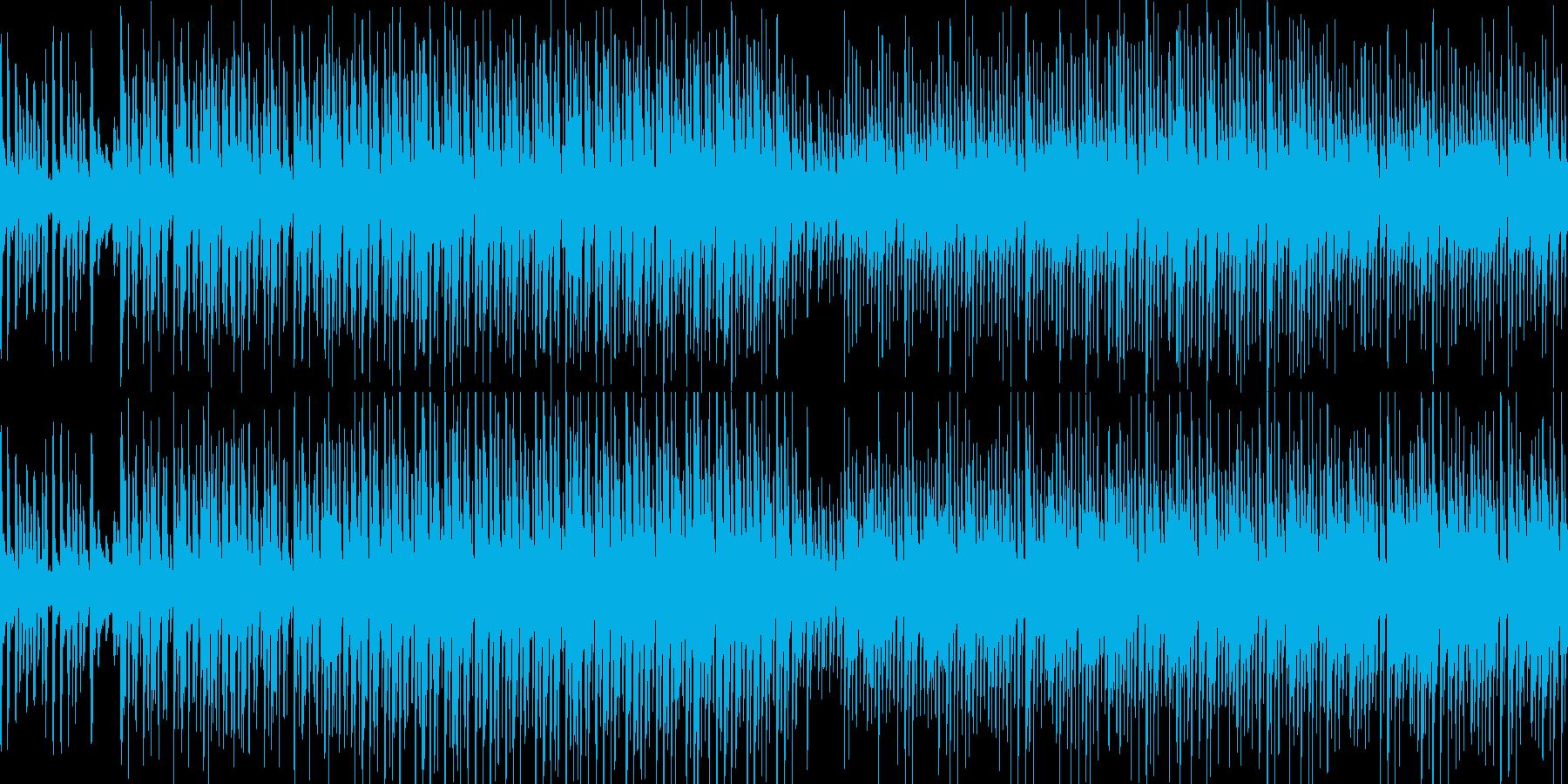 ゲーム・オープニング・エンディングの再生済みの波形