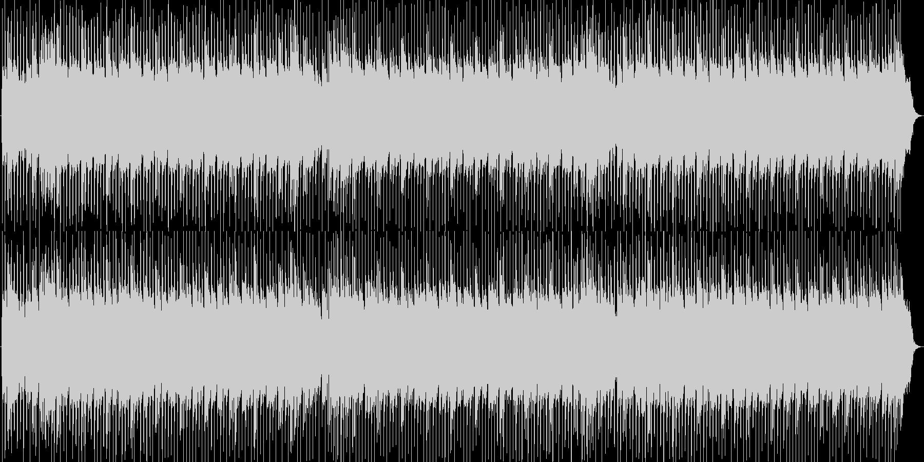 お洒落なR&Bビート洋楽テイストの未再生の波形