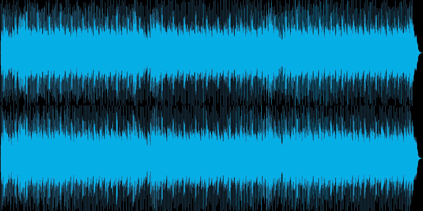 お洒落なR&Bビート洋楽テイストの再生済みの波形