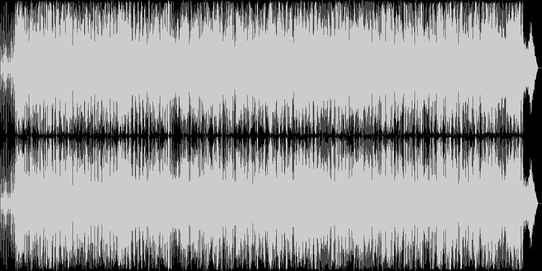 軽快なアコーディオンのアメリカンポップスの未再生の波形