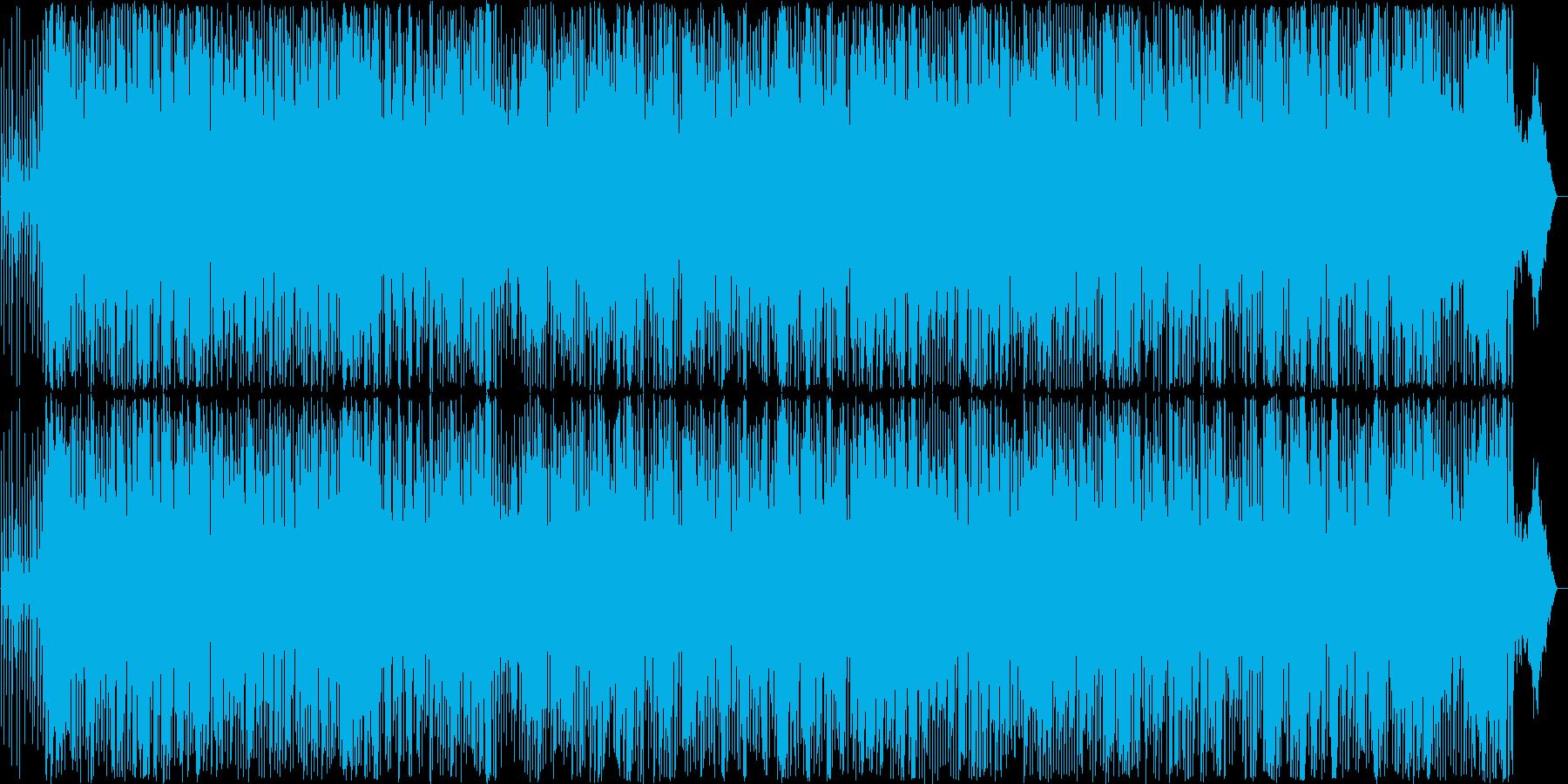 軽快なアコーディオンのアメリカンポップスの再生済みの波形