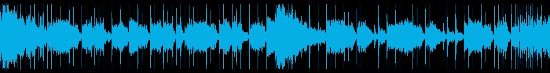 スラップベース/ドラム/ループの再生済みの波形