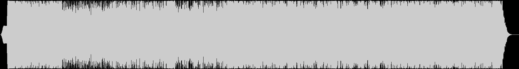 ミドルテンポなダークなロックサウンドの未再生の波形