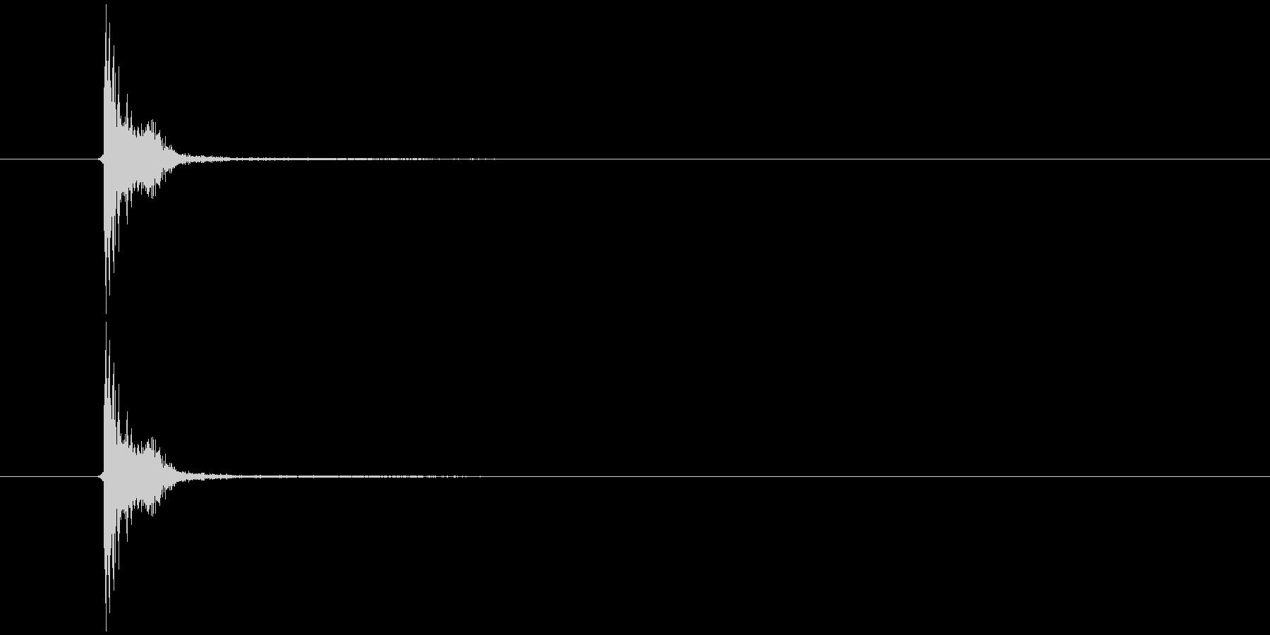スネアドラム3・ボイパの未再生の波形