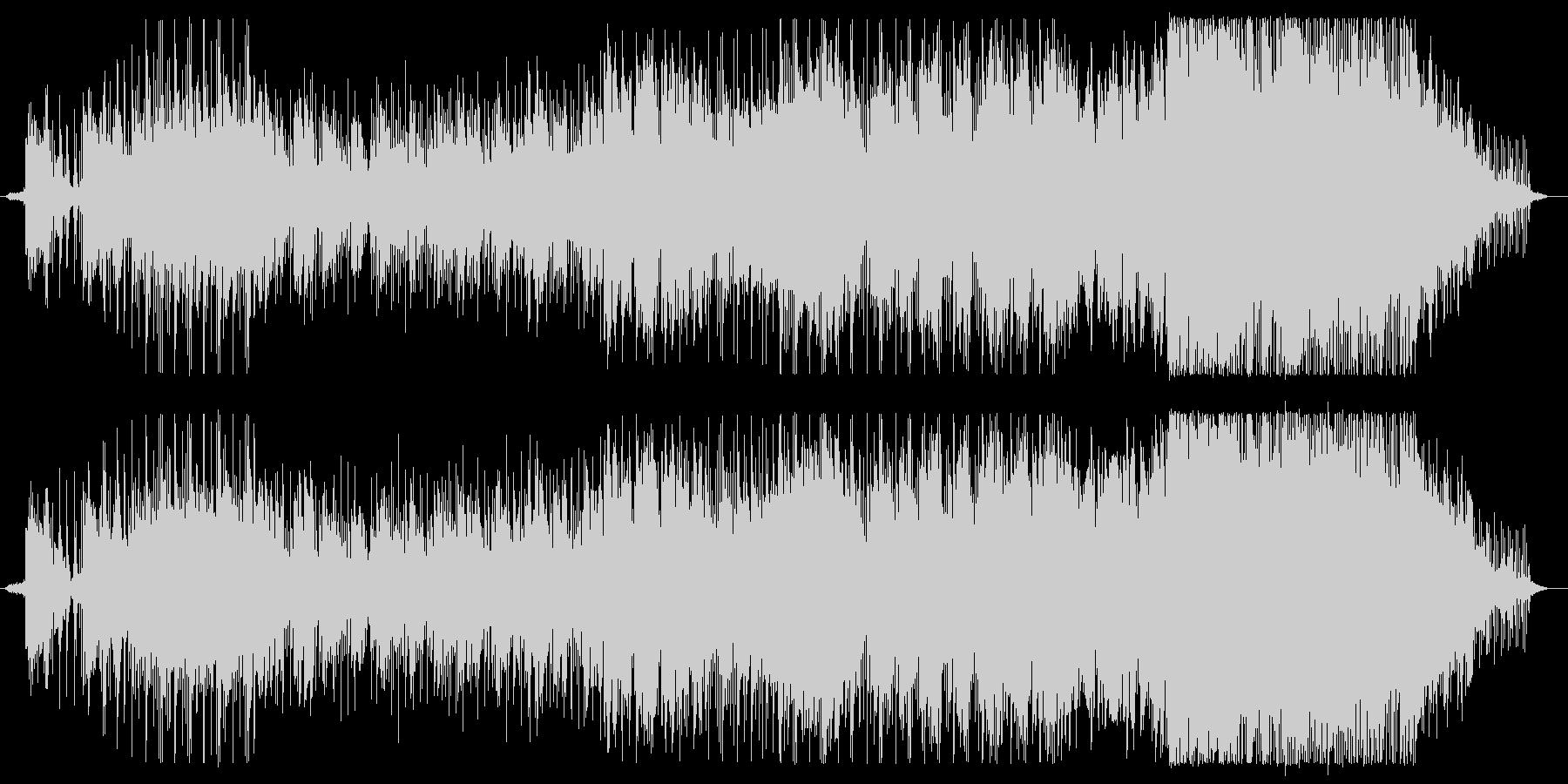 冬と春の淡い和テイストバラードの未再生の波形