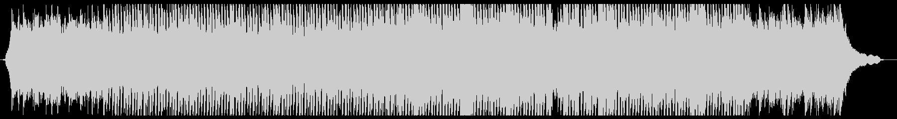 開放的でさわやかなエレキギターインストの未再生の波形