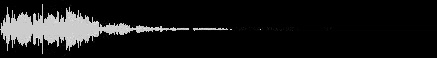 デデーン1 (クイズ出題系 音程低め)の未再生の波形
