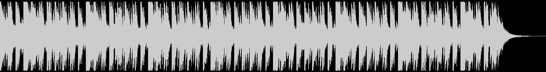 オシャ4つ打ち、スタイリッシュ雰囲気系1の未再生の波形